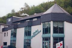 Schieferfassaden Bogenschnittschablone