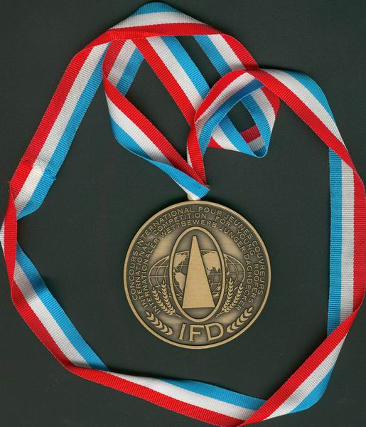 Bronzemedaille der Dachdecker WM 2007