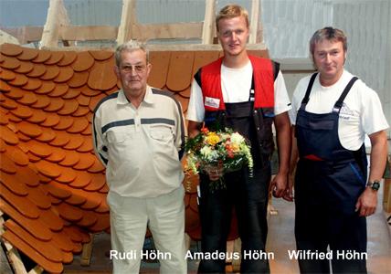 Landeswettbewerb der Dachdecker in Thüringen