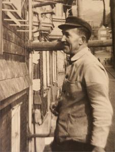 Dachdecker Wilhelm Höhn