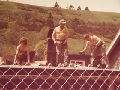 Wilfried, Rudi und Helmut Höhn