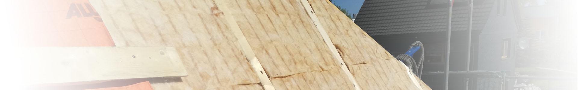 Zwischensparrendämmung bei einer Dachsanierung von Außen